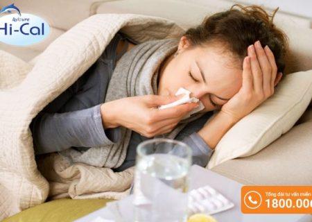 Bà bầu bị cảm cúm khi mang thai 3 tháng đầu