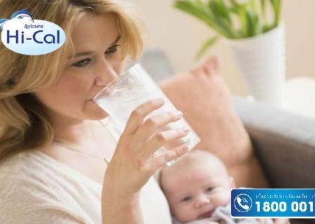 Sau sinh nên uống sữa gì để tốt cho cả mẹ và bé