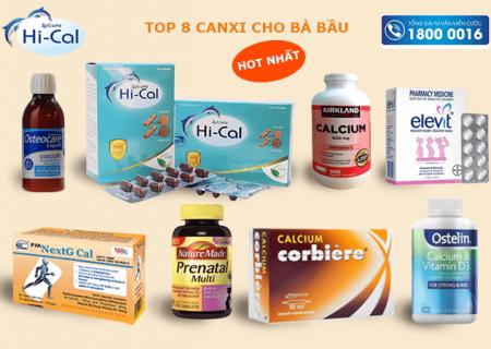 Bổ sung canxi nano cho bà bầu – Tỉnh táo lựa chọn top 8 thuốc canxi tốt nhất